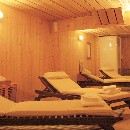 Relaxation room at Hotel Royal Rochebrune Megeve, ski hotel France