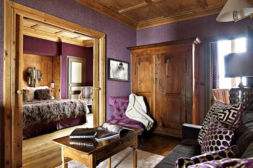 Mont Blanc Megeve bedroom
