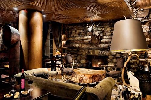 le lodge park megeve lounge