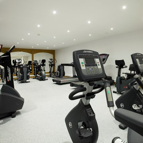 hotel la chaudanne meribel-fitness room