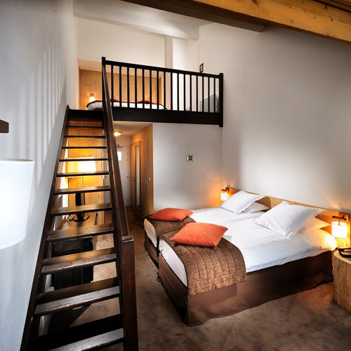 Hotel L'Aigle des Neiges-Val d'Isere-quad room
