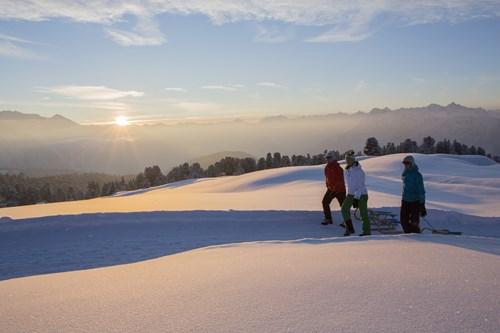 Obergurgl-sledging