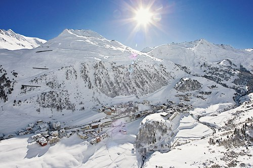 ski holiday, Obergurgl