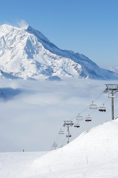 Ski Slopes In France