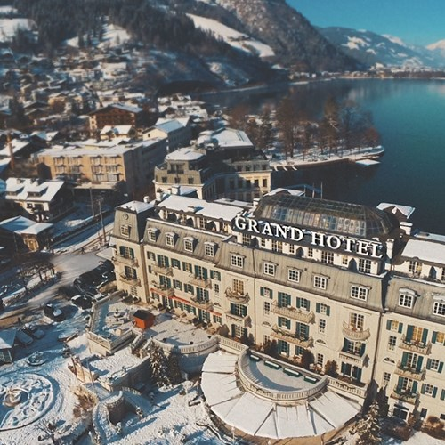 Zell am See ski weekends lake Grand Hotel view