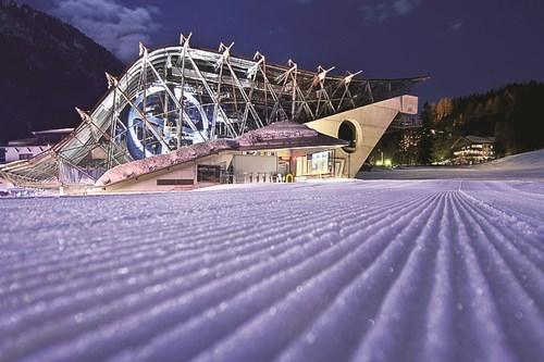 Galzigbahn ski lift station in St Anton, Austria near Zurich