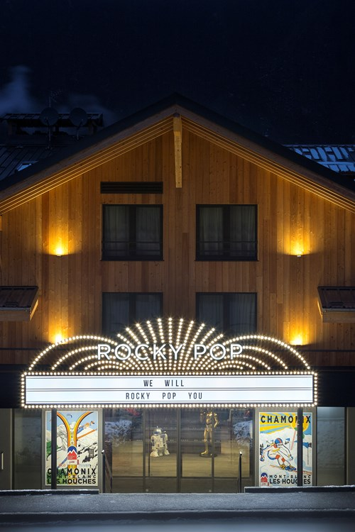 The Rocky Pop Hotel Chamonix - Perfect for skiing weekends in France.