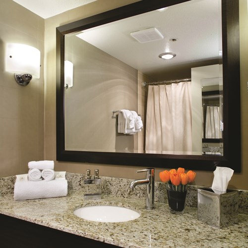 The Listel Hotel, deluxe room ensuite, ski accommodation in Canada
