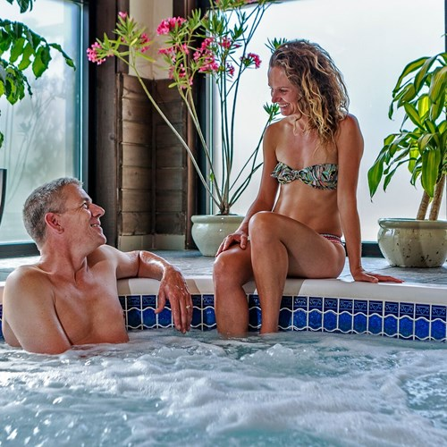 The Listel Hotel, indoor hot tub, ski accommodation in Canada