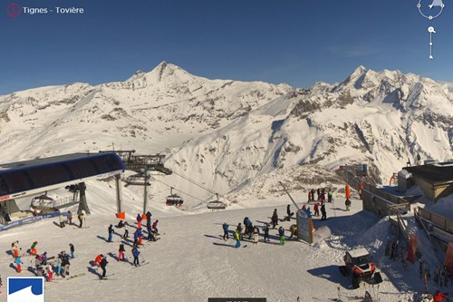 Tignes-France-webcam-Toviere