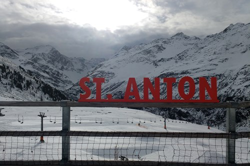 st anton sign at rendl beach