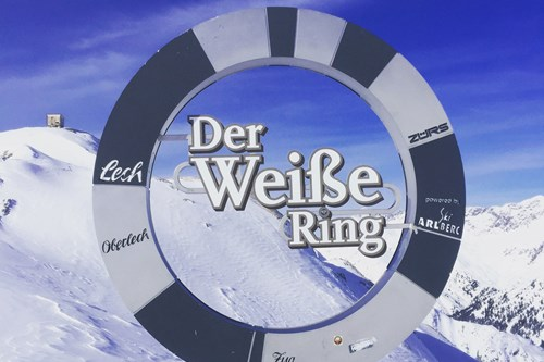 the white ring in st anton, lech and zurs, best skiing in tirol