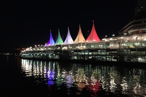 Vancouver-Canada-night-pier