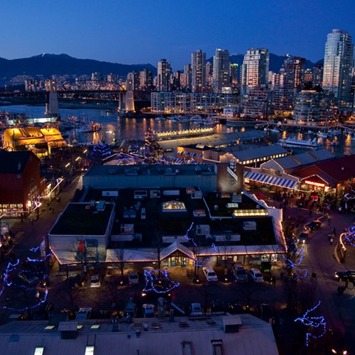 Extend your stay, Vancouver by night