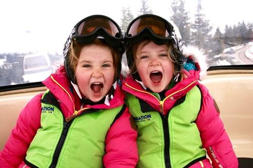 New-gen-ski-school-kids-shouting