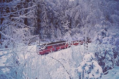 Engelberg skiing