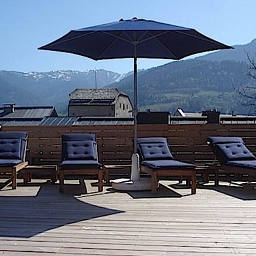 Boutique Hotel Steinerwirt, Zell am See, Austria, outdoor lounge area