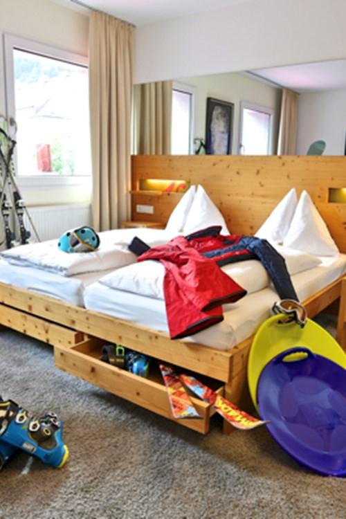Boutique Hotel Steinerwirt, ski hotel in Zell am See, Austria - double room