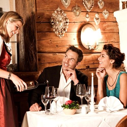 Sporthotel Reisch, Kitzbuhel ski accommodation, dining and restaurant