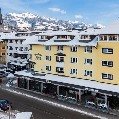 Sporthotel Reisch, Kitzbuhel ski accommodation, exterior