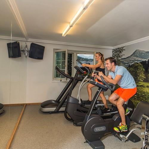 Sporthotel Reisch, Kitzbuhel ski accommodation, gym and fitness area