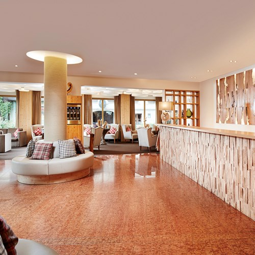 Alpenhaus Hotel, Kaprun, reception