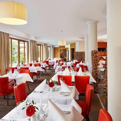 Alpenhaus Hotel, Kaprun, restaurant