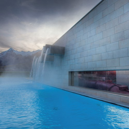 Kaprun, Hotel Tauern Spa, outdoor pool in the mountains of Austria