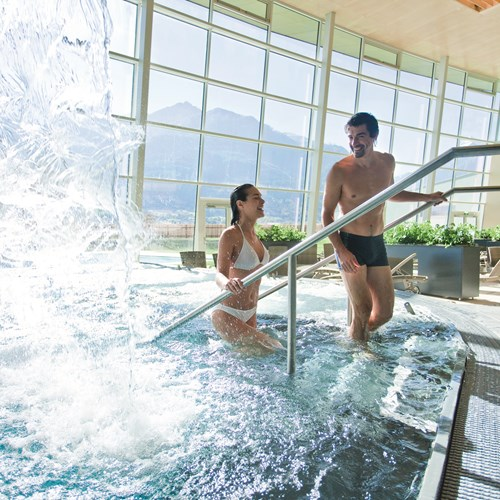 Hotel Tauern Spa, Kaprun, ski accommodation, spa area and indoor pool