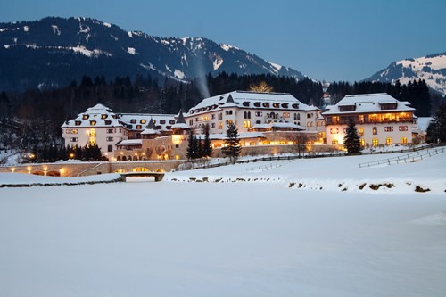 Luxury ski hotel A-Rosa, Kitzbuhel
