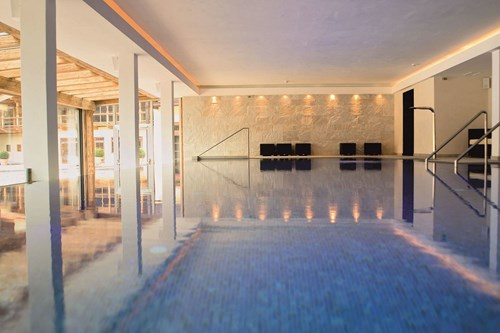 hotel kitzhof kitzbuhel indoor pool luxury ski breaks