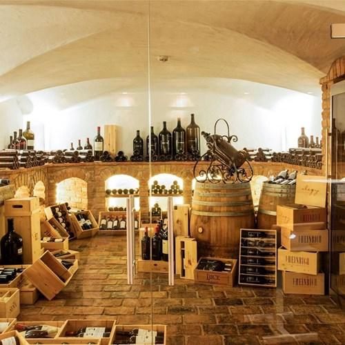 Kitzbuhel Hotel Kitzhof Wine Cellar