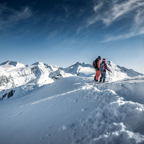 Skiing in Kaprun