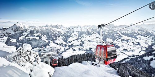 Kitzbuhel Hotel Kitzhof Ski Slopes