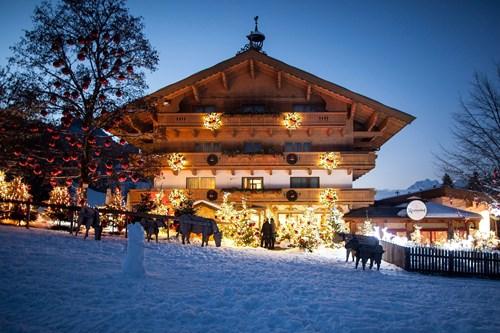Luxury ski resort, Kitzbuhel