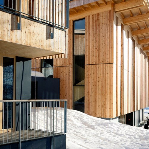 ski in, ski out hotel in Les Arcs, Aiguille Grive Hotel, France - chalets