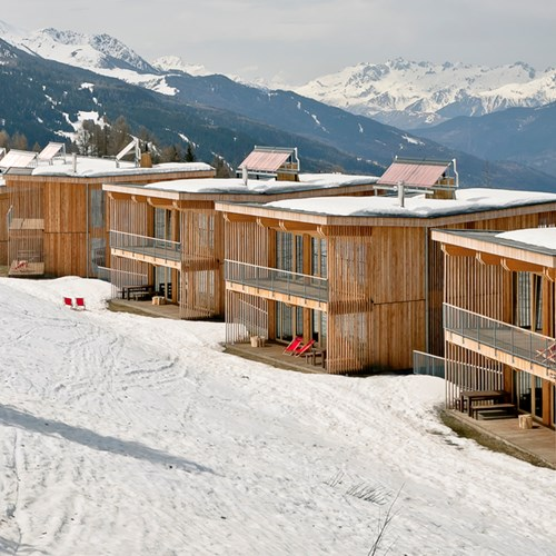 ski in, ski out hotel in Les Arcs, Aiguille Grive Hotel, France - exterior