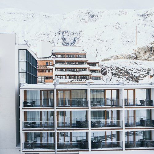 The Crystal Lifestyle Hotel, Luxury ski accommodation in Austria. Exterior