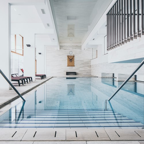 The Crystal Lifestyle Hotel, Luxury ski accommodation, Austria. Indoor pool