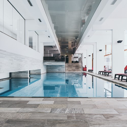 The Crystal Lifestyle Hotel, Luxury ski accommodation Austria. Indoor pool