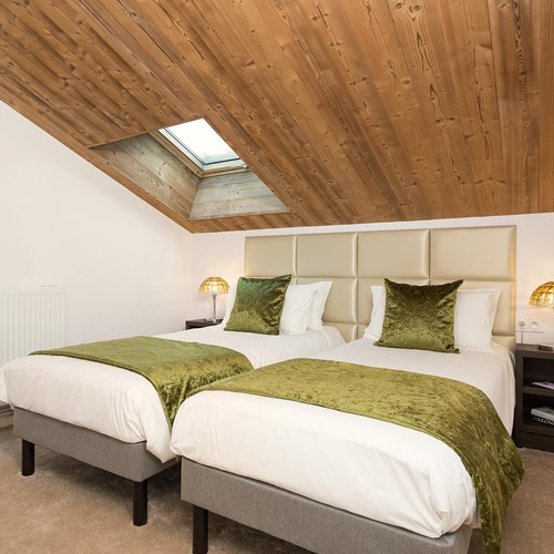 Hotel Le mottaret, Meribel ski resort-twin room