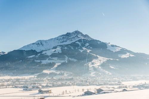 Beginner skiing, St Johann, Austria