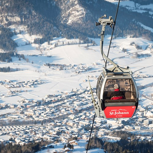 St Johann-best austrian ski resort for beginners