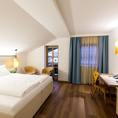 Double room at Hotel & Wirtshaus Post, ski accommodation in St Johann