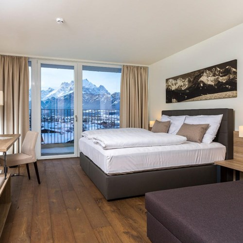 Lti Alpenhotel Kaiserfels, ski accommodation, Austria, superior double room