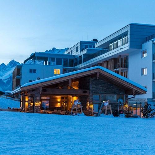 Lti Alpenhotel Kaiserfels, ski accommodation in Austria, exterior shot