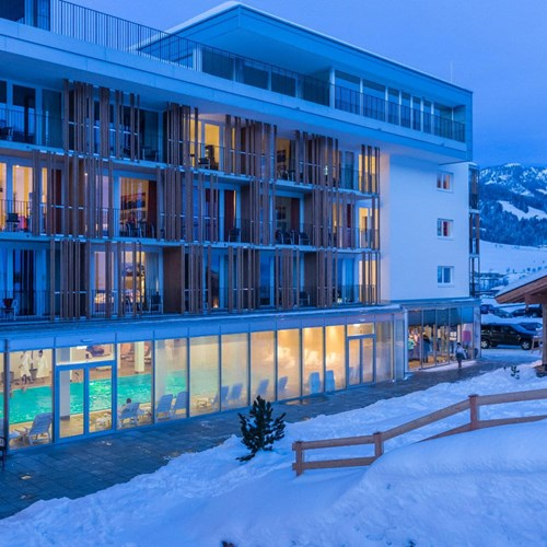 Lti Alpenhotel Kaiserfels, ski accommodation in Austria, exterior shot