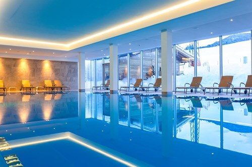 indoor pool perfect for children at Hotel Kaiserfels in St Johann