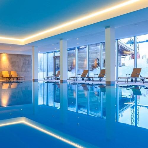 Lti Alpenhotel Kaiserfels, ski accommodation in Austria, indoor pool