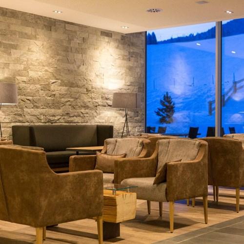 Lti Alpenhotel Kaiserfels, ski accommodation, St Johann - lounge area